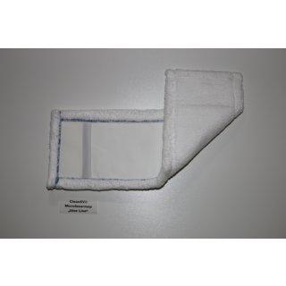 CleanSV Microfasermop Blue Line 50 cm weiß