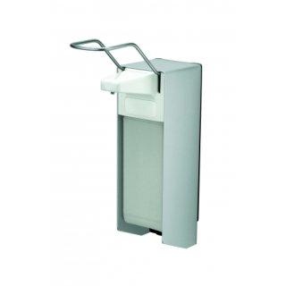 CleanSV Desinfektionsspender Seifenspender  1000 ml  Aluminium mit Flasche