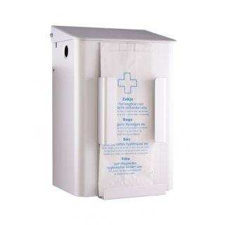 MediQo-line Hygienebehälter + Hygienebeutelhalter 6 Liter Weiß - artikel 8245