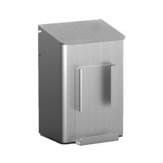MediQo-line Hygienebehälter + Hygienebeutelhalter 6 Liter Aluminium - artikel 8240