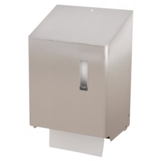 CleanSV SanTRAL Handtuchrollenspender Groß automatisch mit Batterie Edelstahl