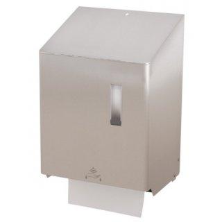 CleanSV SanTRAL Handtuchrollenspender Groß vollautomatisch Edelstahl