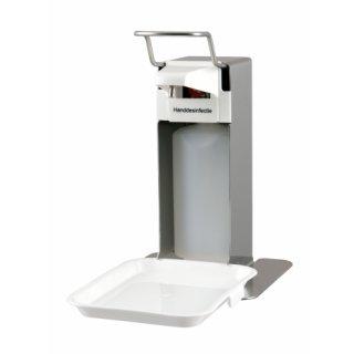MediQo-line Seifen- & Desinfektionsspender 500ml Edelstahl, MQLTD05E - Artikel 8070