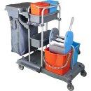 CleanSV® Tyson 4 Profi PE Reinigungswagen, mit...