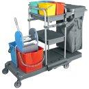 CleanSV® Tyson 6 Profi PE Reinigungswagen...