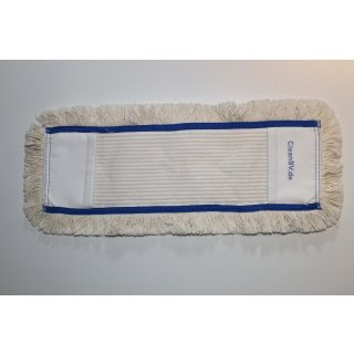 CleanSV® Profi Baumwollmop 5 Stück Pack blau 40 cm