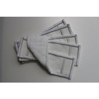CleanSV® Profi Microfasermop weiss 5 Stück Pack 40 cm