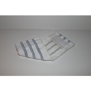 CleanSV® Profi Microfasermop Softbrush blau/weiss 5 Stück Pack 40 cm