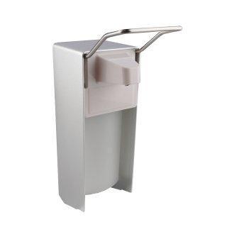 CleanSV Desinfektionsspender Seifenspender  500 ml  Aluminium mit Euroflasche,