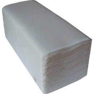 CleanSV® 3200 St. Falthandtücher Papierhandtücher Hochweiss ca. 25 cm x 21  cm Zellstoff 2 lagig